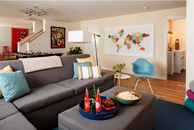 Basement Renovations Create A Playroom, How To Design A Basement Family Room