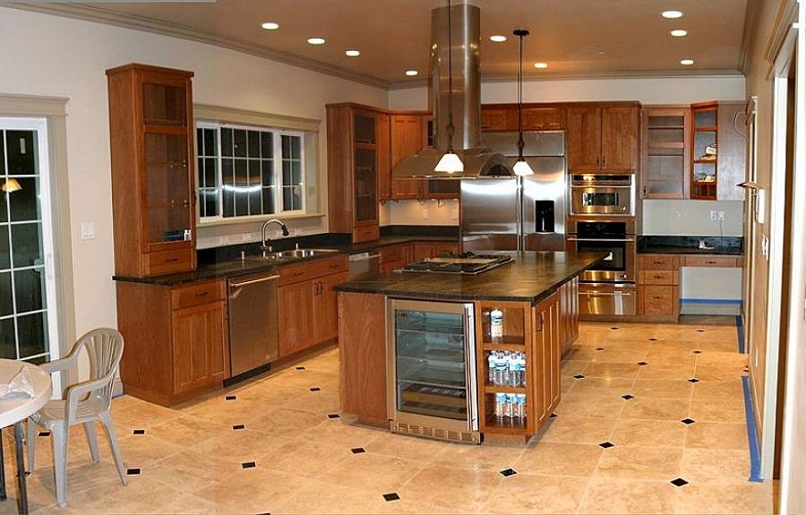 Ceramic Tile Kitchen Flooring