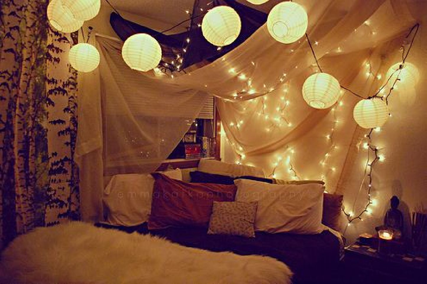 Christmas Ideas For Your Bedroom Doona Covers Online Walls - Cool lights for your bedroom