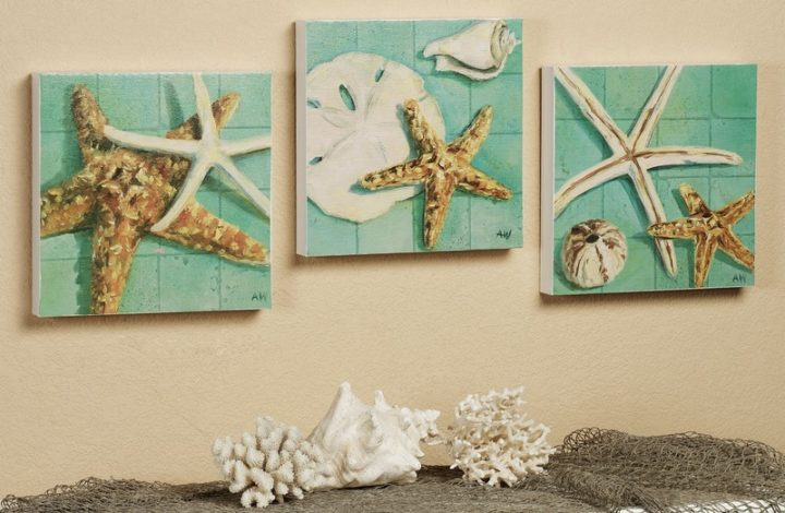 Decorate Your Home With Attractive Starfish Display Case