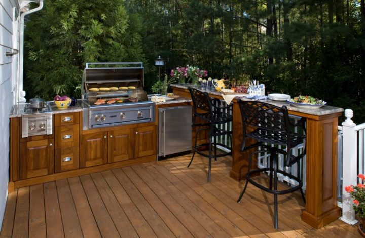 Ideas For A Gorgeous Outdoor Kitchen