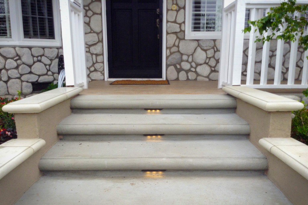 Awesome Home Front Steps Design Photos - Decorating Design Ideas ...