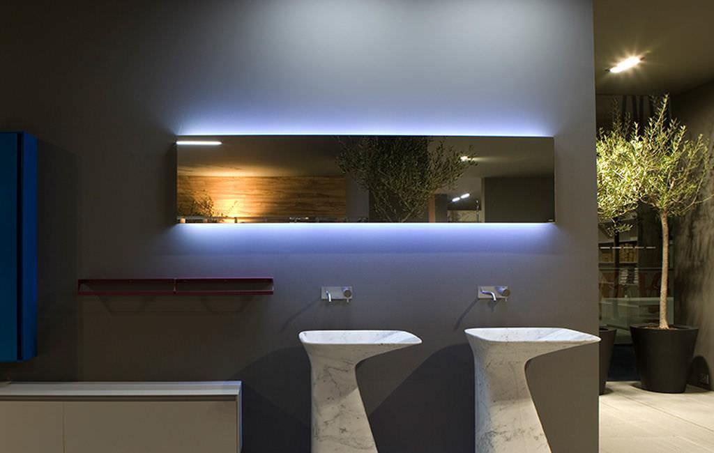 Bathroom mirror led light