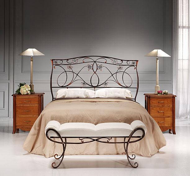 Elegant muebles de forja leaf lette - Muebles de forja ...