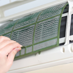 http://www.dreamstime.com/royalty-free-stock-image-removing-dirty-air-conditioner-filter-image25410616