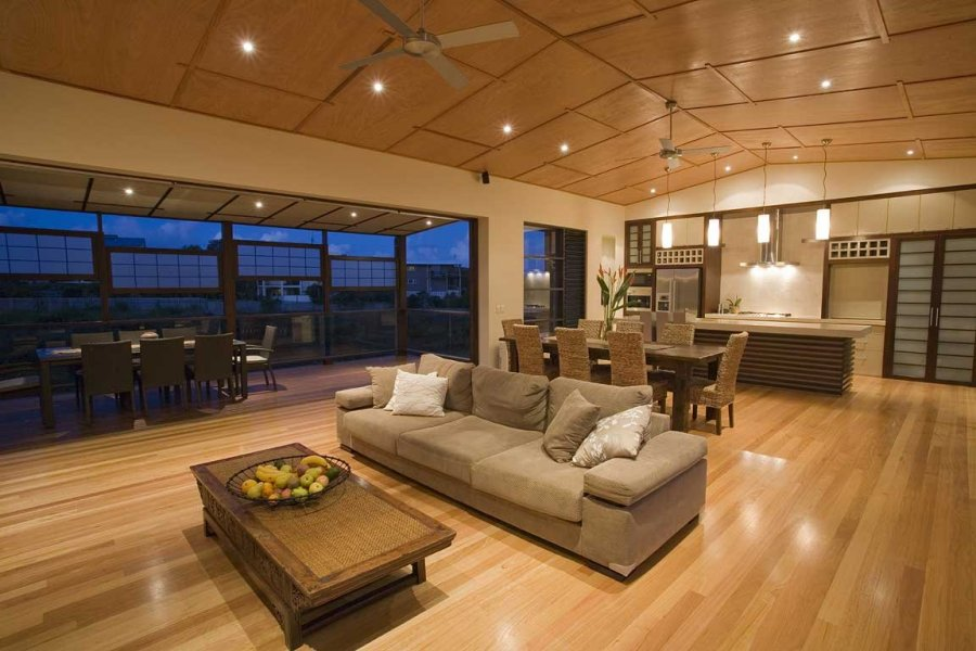 High Demand For Natural Real Wood Floors In White Or Shades Of Gray